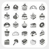 Kuchen und Dessert-set