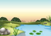 Illustrazione di un ecosytem
