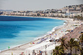 Francouzská Riviéra Cote dazur Nice Francie pláž na slavné Prome