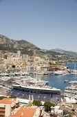 Panorama monte carlo přístav Monako