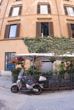 strasse szene rom italien