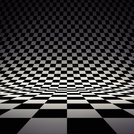 Black and white checker