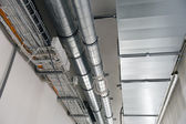 Systems of ventilation and electric cables