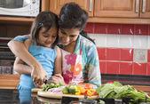 Matka a dcera, vaření