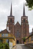 Die Türme der Kathedrale von roskilde