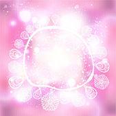 Festive glittering frame Vector Background