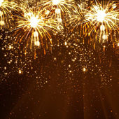 Nový rok oslava pozadí