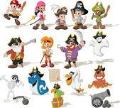 Kreslený piráti