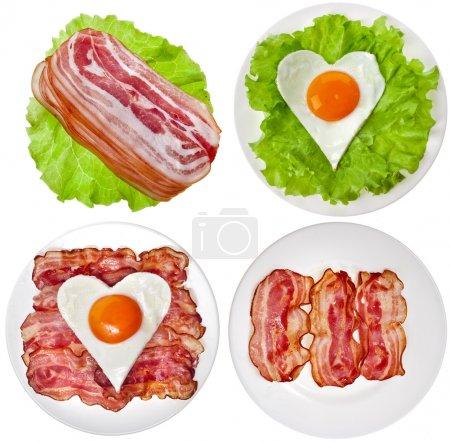 Постер, плакат: Protein foods nutritious meals, холст на подрамнике