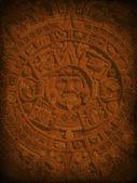 Tajemné aztécké pozadí