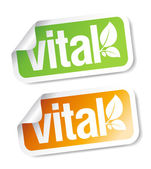 Vital stickers set