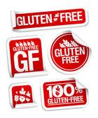Gluten free food stickers.