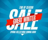 Great winter sale design.