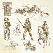 Středověkých rytířů