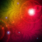 Bezešvé fialový damaškové tapeta