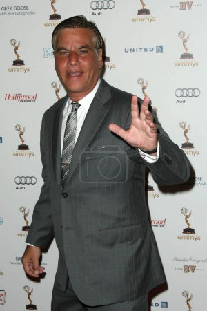 Постер, плакат: Aaron Sorkin at the 63rd Primetime Emmy Awards Performers Nominee Receptio, холст на подрамнике