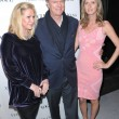 Постер, плакат: Kathy Hilton Rick Hilton and Nicky Hilton