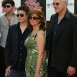 Постер, плакат: Susan Sarandon and Tim Robbins with son Miles