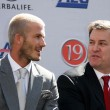 Постер, плакат: David Beckham and Tim Leiweke