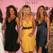 Постер, плакат: Alessandra Ambrosio Adriana Lima Karolina Kurkova Gisele Bundchen Izabel Goulart and Selita Ebanks arriving at The Victorias Secret Fashion Show Kodak Theatre Hollywood CA 11 16 06
