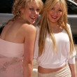 Постер, плакат: Haylie Duff and sister Hilary Duf