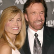Постер, плакат: Chuck Norris and wife Gena
