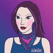 Tón v oblečení a make-up pro různé typy vzhledu