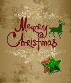 Základní cmykhandwriting. Veselé Vánoce