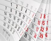 Stránka Kalendář