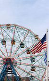 Wonder Wheel located at Deno's Wonder Wheel Amusement Park in Co