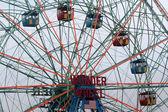 Wonder Wheel located at Deno's Wonder Wheel Amusement Park in Co