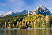 Strbske Pleso lake, High Tatras mountains, Slovakia, Europe