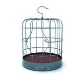 Nefunkční ptačí klec