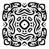 Abstraktní vektorová mehndi tetování ornament