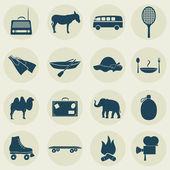 Rekreační ikony
