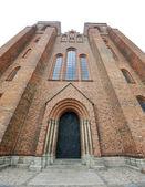 Fasáda katedrály roskilde