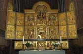 Dem Altar der Kathedrale von roskilde