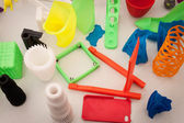 3d printed objects at Robot and Makers Show