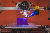 3D nyomtató a ventura lambrate tér Milánó a design hét alatt