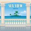 Постер, плакат: Wonderful sea view