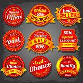 Prodej štítky
