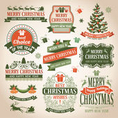 Christmas collection of design elements