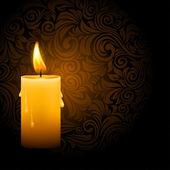 Svítící svíčka