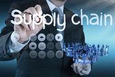 Zásobování řetězce koncepce řízení toku zboží od dodavatele k atypické