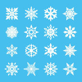 Snowflake vector set for your design