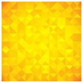 Triangolo e quadrato modello nei colori giallo e arancioni