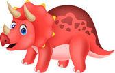 Illustration of Cute dinosaur cartoon