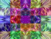 Geometrická abstraktní ornament. kaleidoskop. 0145