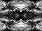 Geometrická abstraktní monochromatický ornament poza. 0174