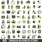 Set of 60 business icons